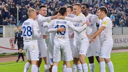 FC Botoşani chiar e revelaţia sezonului. A învins-o şi pe CS U Craiova prin golul FABULOS al lui Miron şi e tot mai sigură de calificarea în play-off