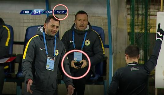 VIDEO   I-a decis Gigi Becali schimbările lui Dică la meciul cu Botoşani? Situaţia interpretabilă în care a fost surprins MM