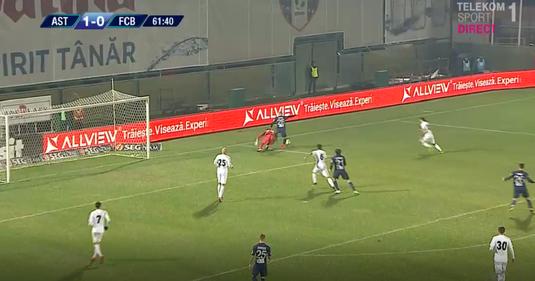 VIDEO   Gafă de amator făcută de Iliev la faza din care FC Botoşani a egalat
