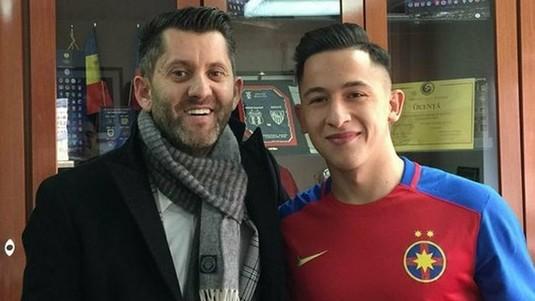 OFICIAL   Moruţan a semnat cu FCSB. Prima imagine cu jucătorul în tricoul roş-albatru. A refuzat oferta lui Şahtior!