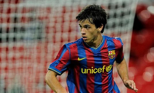 Un jucător care a fost la FC Barcelona a semnat cu o echipă din Liga 1