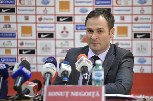 Ionuţ Negoiţă a încercat să-i vândă clubul unui milionar din Braşov. Ce răspuns a primit