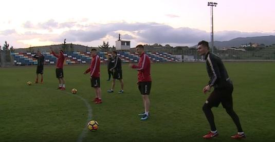 VIDEO | E loc şi de distracţie în cantonamentul lui Dinamo! Pierzătorii dau vinul! Cine a rămas dator :)