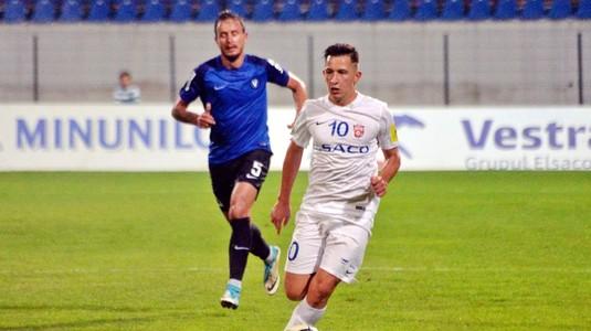 """Emoţii pentru FCSB. Olimpiu Moruţan s-a accidentat în amicalul cu Ludogoreţ. Costel Enache: """"S-a lovit la gleznă"""""""