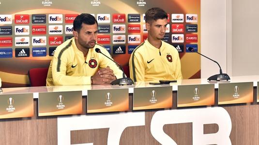 """Dică neagă conflictul cu Budescu şi lămureşte situaţia lui Alibec: """"Sunt doi oameni maturi, sper să dea totul pentru echipă"""""""