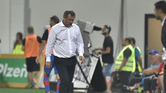 """Antrenorul celor de la Plzen are explicaţiile eşecului cu FCSB: """"Dacă marcam la început, meciul ar fi fost altul"""""""
