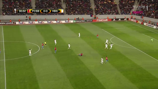 VIDEO | Gafă COLOSALĂ în apărarea lui Beer Sheva! Florinel Coman a marcat cel mai uşor gol din carieră