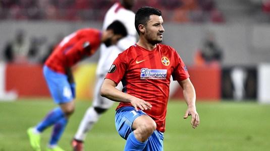 VIDEO   Budescu a dezvăluit ce i-au spus arbitrii după cea mai controversată fază a meciului cu Hapoel!