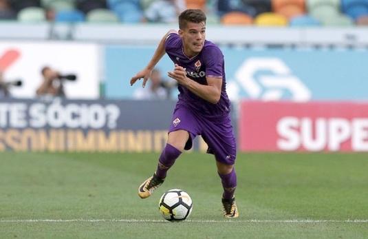 """""""Eu cred că poate reuşi la Fiorentina, dar m-aş bucura să vină la noi"""". Dică îl aşteaptă pe Ianis Hagi la FCSB"""