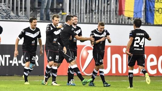 Jucătorii lui FC Lugano au rămas uimiţi când au văzut Naţional Arena