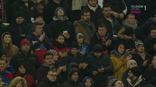 VIDEO | Moment emoţionant pe Arena Naţională! Înainte de startul jocului s-a ţinut un minut de reculegere. Toţi suporterii au aplaudat în picioare