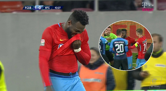 """Gnohere a primit trei etape de suspendare! """"Bizonul"""" ratează meciurile cu Gaz Metan, CFR Cluj şi Dinamo"""