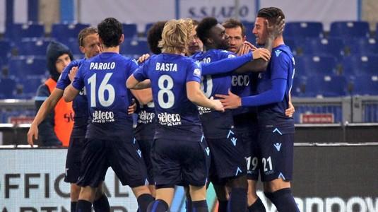 Lazio s-a impus la limită în meciul cu Fiorentina şi s-a calificat în semifinalele Cupei Italiei
