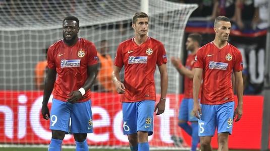"""Steliştii speră într-o minune în """"dubla"""" cu Lazio: """"Italienii sunt favoriţi, dar cred că vom ieşi cu capul sus!"""""""