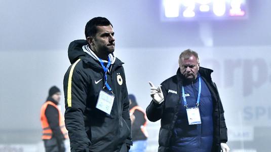 Asta e cea mai tare! Dică s-a plâns că FCSB n-a primit un penalty în amicalul pierdut cu Olimpik Doneţk