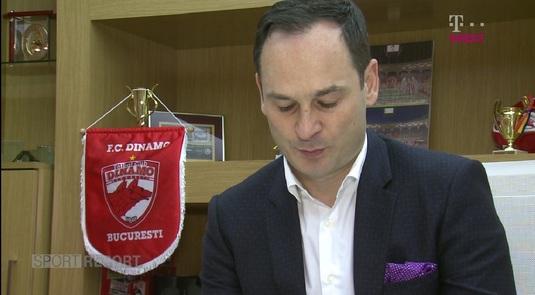 VIDEO | Ce a găsit şi ce lasă Negoiţă în urmă la Dinamo! Cum s-a transformat clubul roş-alb de când a fost preluată de actualul patron