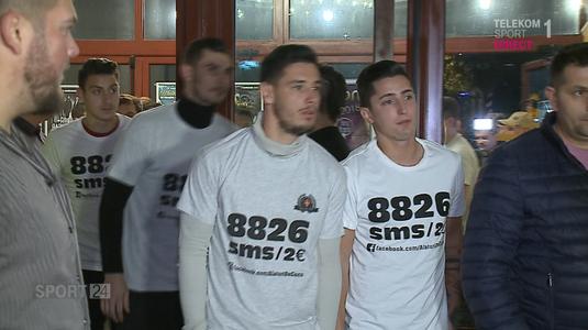 VIDEO | Dinamoviştii, mai uniţi ca niciodată pentru o cauză nobilă. Au organizat un eveniment caritabil pentru suporterul bolnav de cancer