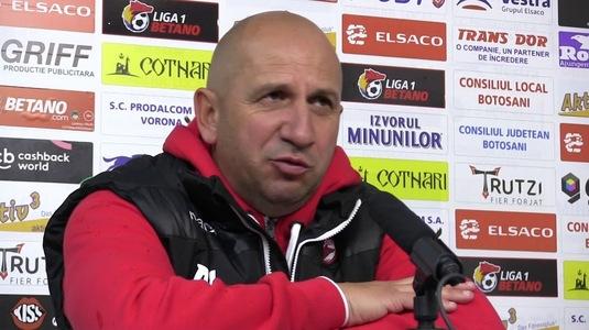 """Miriuţă îşi taxează atacanţii şi nu ştie dacă va mai rămâne la Dinamo: """"Eu plec în vacanţă, vedem dacă mă mai întorc"""""""
