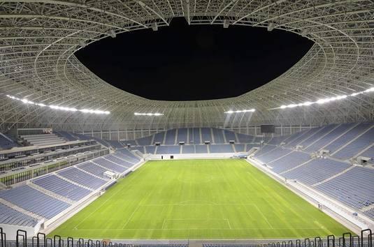 Galerie FOTO   Noul stadion din Craiova este gata! Cum arată noaptea arena din Bănie