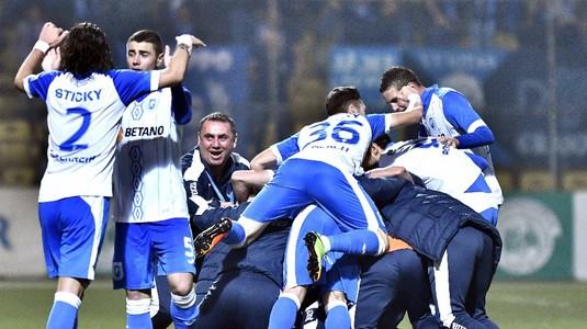 Emoţii mari pentru apărarea lui Dică. CS U Craiova e singura echipă din Liga 1 care a reuşit asta în actualul sezon!
