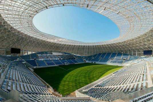 """GALERIE FOTO I Detalii de ultimă oră despre noul stadion din Craiova: """"Astăzi, încheiem în mod oficial procesul de recepţie la terminarea lucrărilor!"""""""