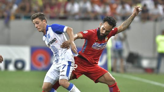 Performanţă incredibilă reuşită de Gustavo! Brazilianul a ajuns la 9 goluri marcate în primele 18 etape, exact cât Ion Oblemenco în primul sezon la Craiova