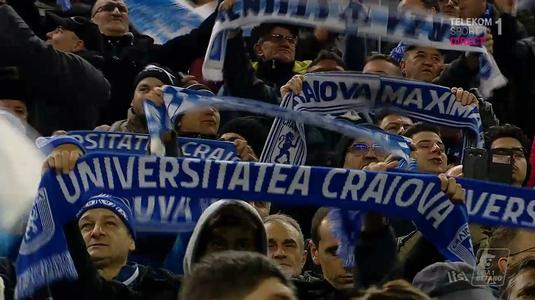 """VIDEO   Atmosferă de VIS pe noul """"Ion Oblemenco"""". 15 mii de olteni au intonat imnul naţional"""