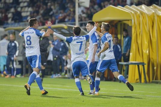 """O legendă a clubului U Craiova exultă: """"Avem cel mai bun atac din ţară. Putem lua titlul!"""""""