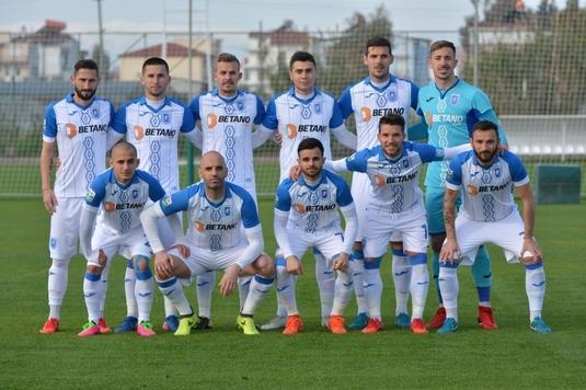 VIDEO | CS U Craiova, învinsă de o echipă din a treia ligă germană, în primul amical al iernii