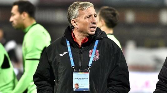 """Dan Petrescu, supărat pe arbitraj: """"Au fost decizii clare în defavoarea noastră la ambele lor goluri"""""""