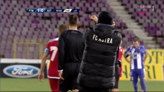 Cum justifică Astra gestul reprobabil al antrenorului Edi Iordănescu + ce s-a întâmplat la finalul meciului