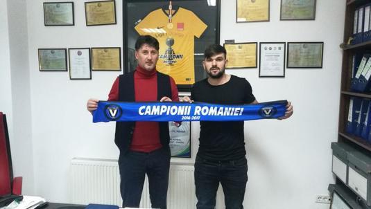 După întoarcerea lui Ianis Hagi, Viitorul a mai bifat astăzi un transfer! Mihai Voduţ a semnat cu campioana României