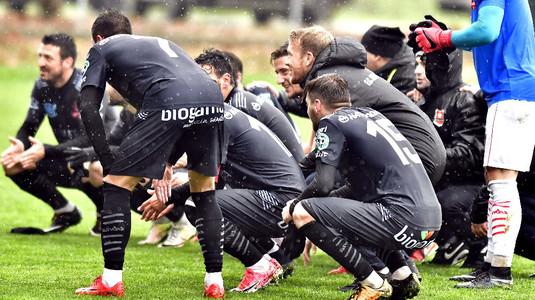 Hermannstadt pierde primul loc înaintea pauzei de iarnă, după remiza cu CS Afumaţi. Dunărea Călăraşi, noul lider în Liga 2