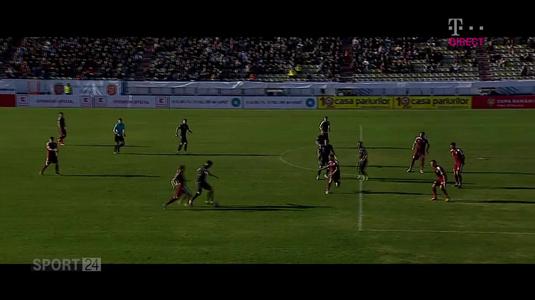 VIDEO | Cele mai frumoase goluri marcate, miercuri, în Cupa României