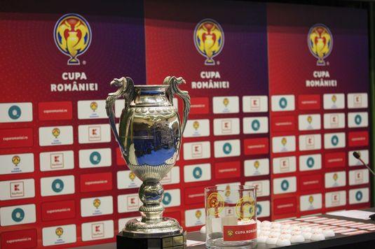 S-au stabilit urnele pentru tragerea la sorţi a optimilor de finală ale Cupei României