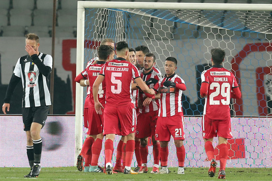 """Ruleta rusească! """"U"""" Cluj - Dinamo 1-1 (2-4 după penalty-uri). Gazdele au ratat în total 4 lovituri de la 11 metri"""