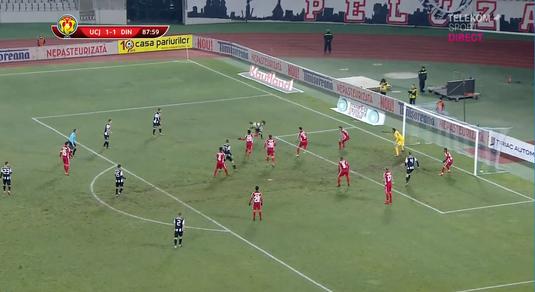 VIDEO | Steliano Filip i-a anulat un SUPERGOL lui Florescu. Aici se putea termina totul pentru Dinamo!