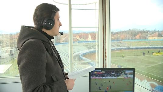 Se întâmplă în fotbalul românesc. După ce a comentat Slobozia - Poli Iaşi din maşină, Ştefan Tudor a dat de greu şi la meciul Sibiului VIDEO