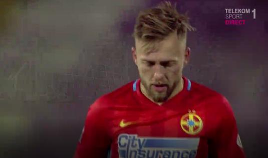 VIDEO | De pus în ramă. Golofca a înscris primul său gol pentru FCSB. Execuţia a fost superbă
