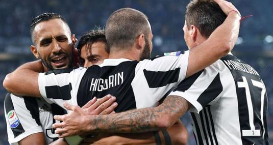 Juventus continuă parcursul fără greşeală în actuala ediţie a Serie A