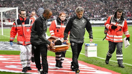 Galerie FOTO. O nouă accidentare horror! Un jucător din Bundesliga îşi poate pierde ochiul!