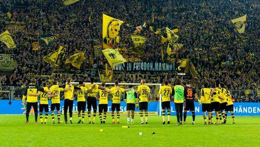 Performanţă incredibilă pentru Dortmund I 40 de meciuri consecutive fără înfrângere pe teren propriu, în Bundesliga