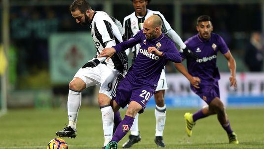 Mandzukic a adus victoria lui Juventus, 1-0 cu Fiorentina. Higuain a uitat să marcheze. Ce spune Allegri!