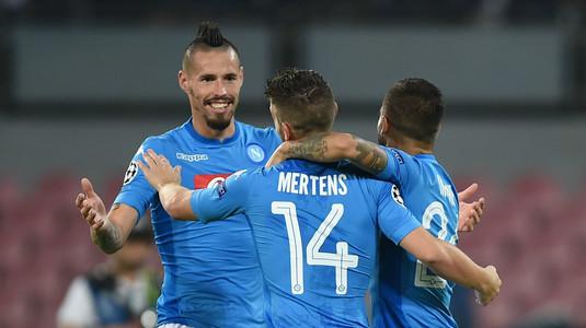 VIDEO | Napoli e de neoprit în Serie A. O nouă victorie la scor pentru echipa lui Chiricheş
