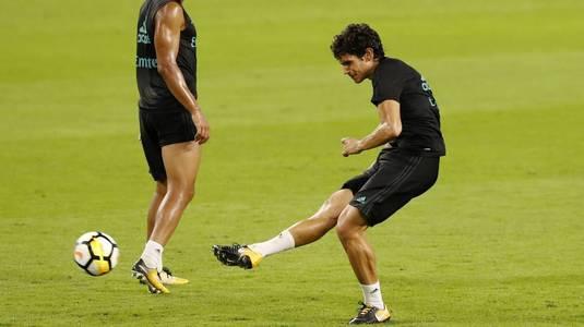 El este singurul jucător care nu a evoluat pentru Real Madrid în acest sezon