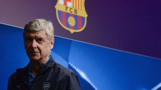 """FC Barcelona a băgat frica-n Wenger: """"N-ar fi normal. Cum să se întâmple aşa ceva?"""""""