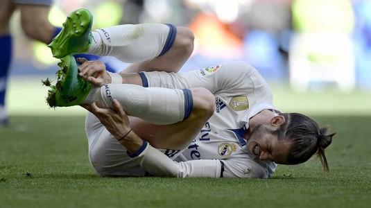 Statistică îngrozitoare pentru Bale. Galezul a suferit a 24-a accidentare în doar patru ani. Câte meciuri a ratat şi cât va mai sta pe bară