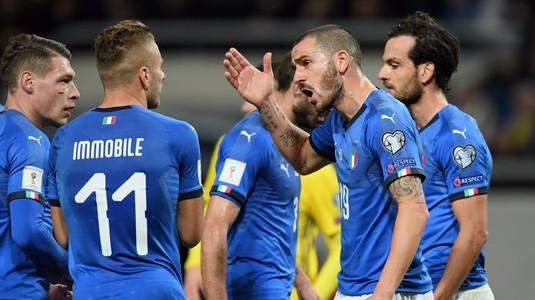 Primele măsuri după ce Italia a ratat prezenţa la Mondial. Selecţionerul va fi demis miercuri! Un nume URIAŞ îi va lua locul