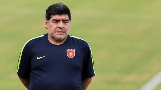 """Maradona, trist după ce Italia a ratat prezenţa la Cupa Mondială: """"Italienii au dat mereu culoare"""""""