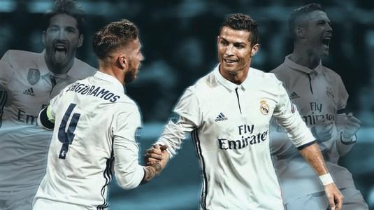 Ronaldo şi Ramos nu se mai suportă. Detalii din vestiarul lui Real Madrid!